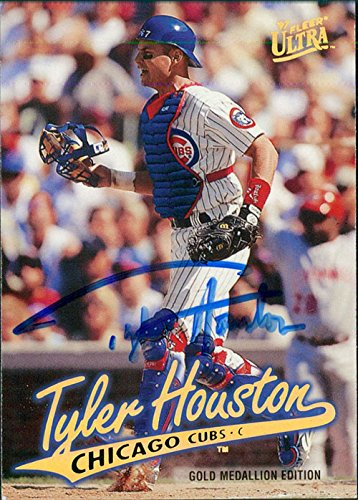 Powers Collectibles Signed Houston, Tyler (Chicago Cubs) ...