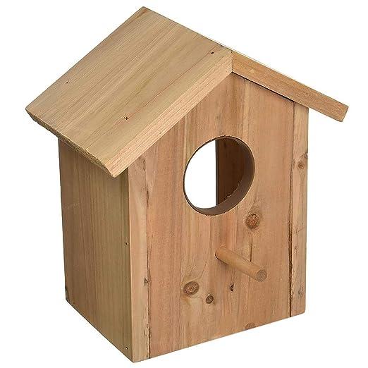 PENCIL2 - Jaula para pájaros con Ventosa, Montaje en Pared, fácil ...