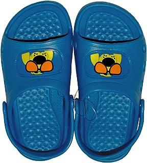 1paio di bambini ragazzi Ciabatte, tempo libero latschen, bagno pantofole taglia: 30, Blu, BL 30