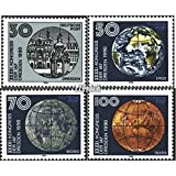 DDR 3360-3363 (Complete.Issue) 1990 Astronomical Federation (Stamps for Collectors) Space