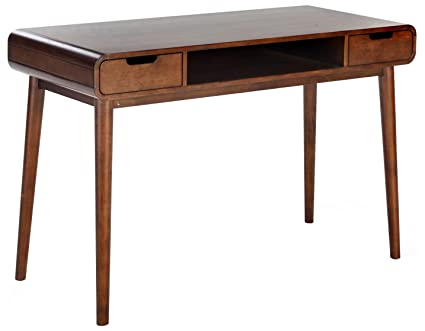 8fcac316bca20 Image Unavailable. Image not available for. Color  Belham Living Carter Mid  Century Modern Writing Desk