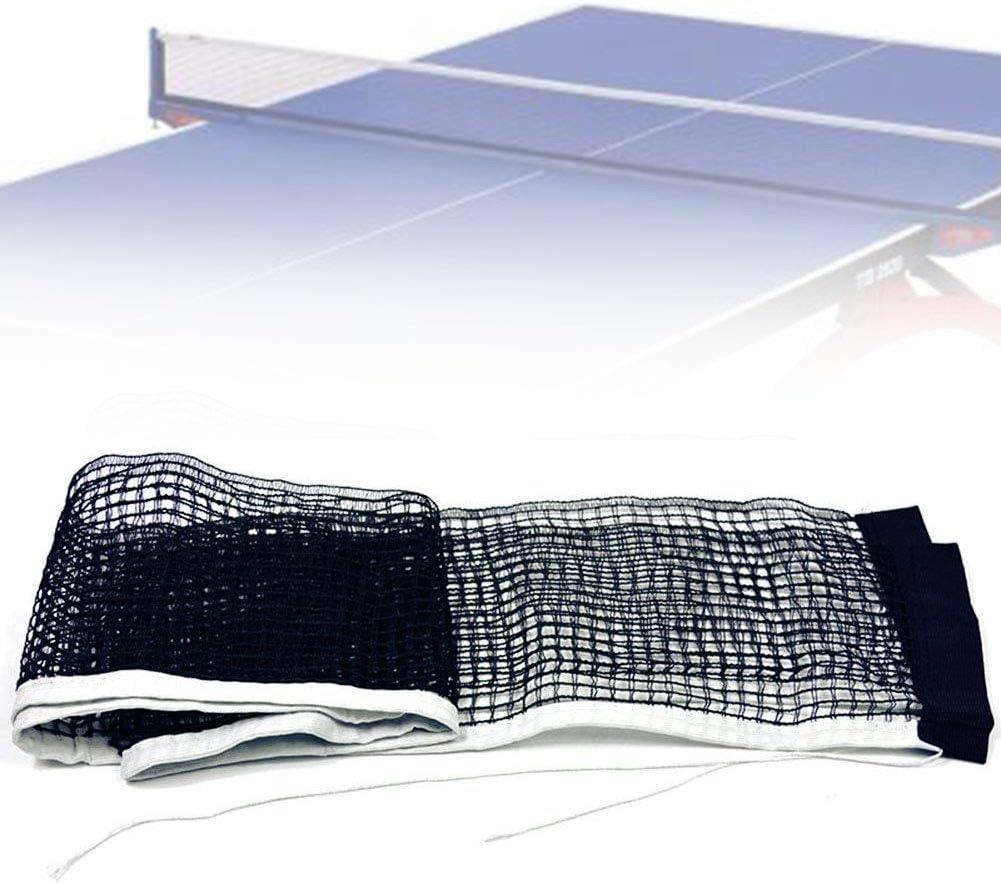 Dyyicun12 Table Tennis Net Portátil 70 Pulgadas, Reemplazo De Tenis De Mesa Encerado Ping Pong Net Accesorio para Juegos Deportivos De Interior