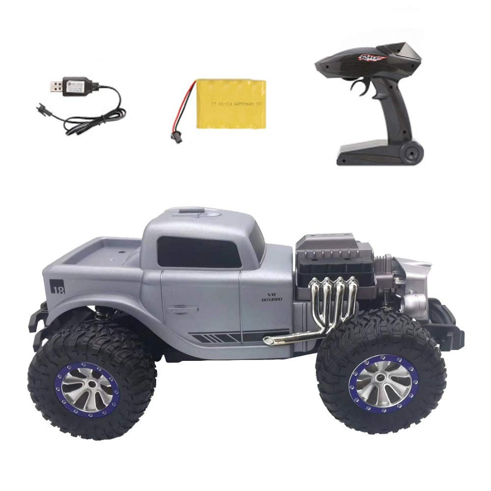 1/18 Scale RC Rock Crawler 4WD Off Road RC Truck 2.4Ghz 20KM/H High Speed Remote Control Monster Truck Desert Buggy RC Car for Ages 14+ by DaoAG (Image #5)