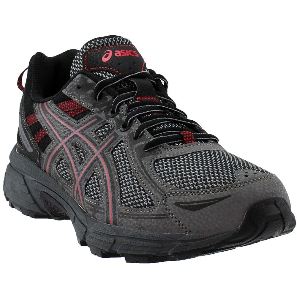 ASICS Men's Gel-Venture 6 Carbon/Cayenne Ankle-High Running Shoe - 7.5M