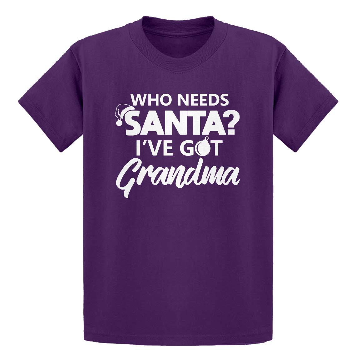Kids T-Shirt Ive got Grandma Indica Plateau Youth Who Needs Santa