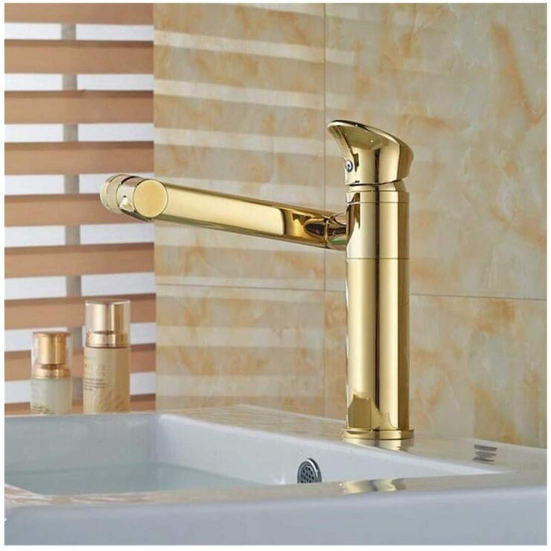 Kitchen Bath Basin Sink Bathroom Taps Washbasin Mixer Wholesale Basin Faucet Hot&Cold Tap One Hole Ctzl1785