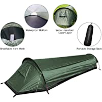 YingQ Tienda De Saco De Dormir Nuevo Ultraligero Bivvy Bag Carpa 100% Impermeable Bolsa De Dormir Cubierta Bivvy Saco…