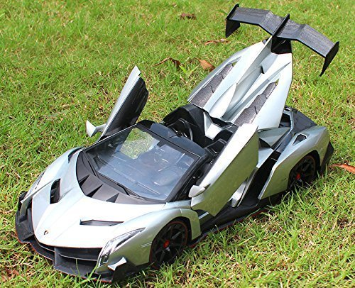 NEW Lamborghini Veneno Roadster 1:14 Scale, Gravity Sensor/Radio Control RC Vehicle Model Car Auto Open Door