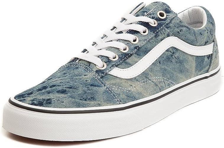 Vans Unisex Old Skool Chex Skate Shoe