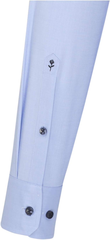 Seidensticker Herren Business Hemd Slim Fit