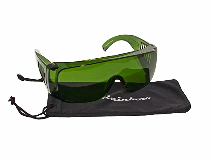 Rainbow safety Gafas Protección IPL Depilación Accesorios Luz Pulsada Intensa (190-1800nm Filtro F4) IPL-2R