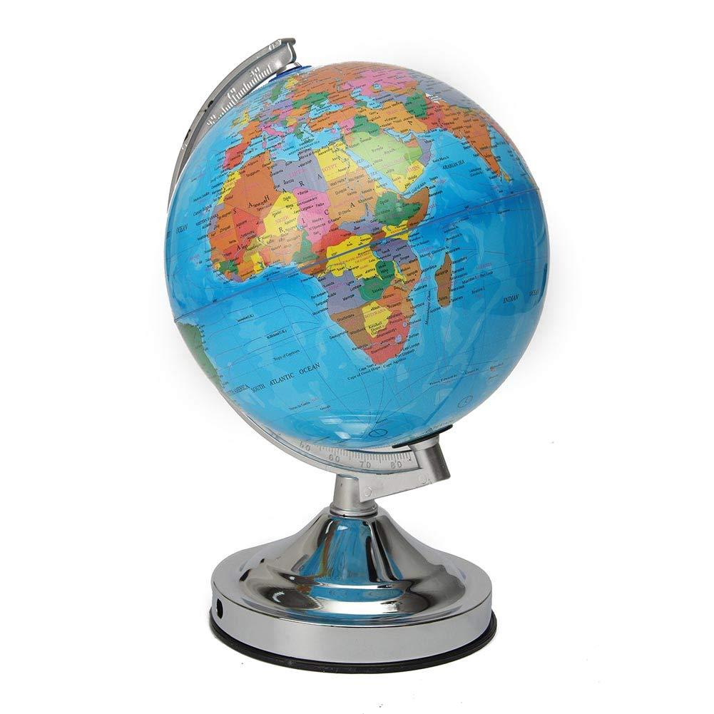 Coomir Globo de la Tierra Iluminado Océano Mundo Noche Luz Home Bar Decor Regalo Enchufe de la UE 1mc5fe1yx6ut3vu7
