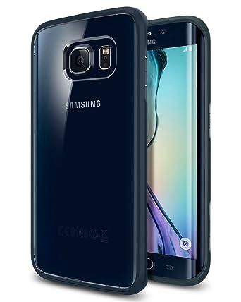 promo code 2943a b50e5 Amazon.com: Spigen Ultra Hybrid Galaxy S6 Edge Case with Air Cushion ...