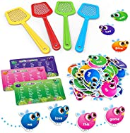 SpringFlower Sight Word Game, Swat a Sight Word Educational Toy for Age of 3,4,5,6 Year Old Kids, Boys & G