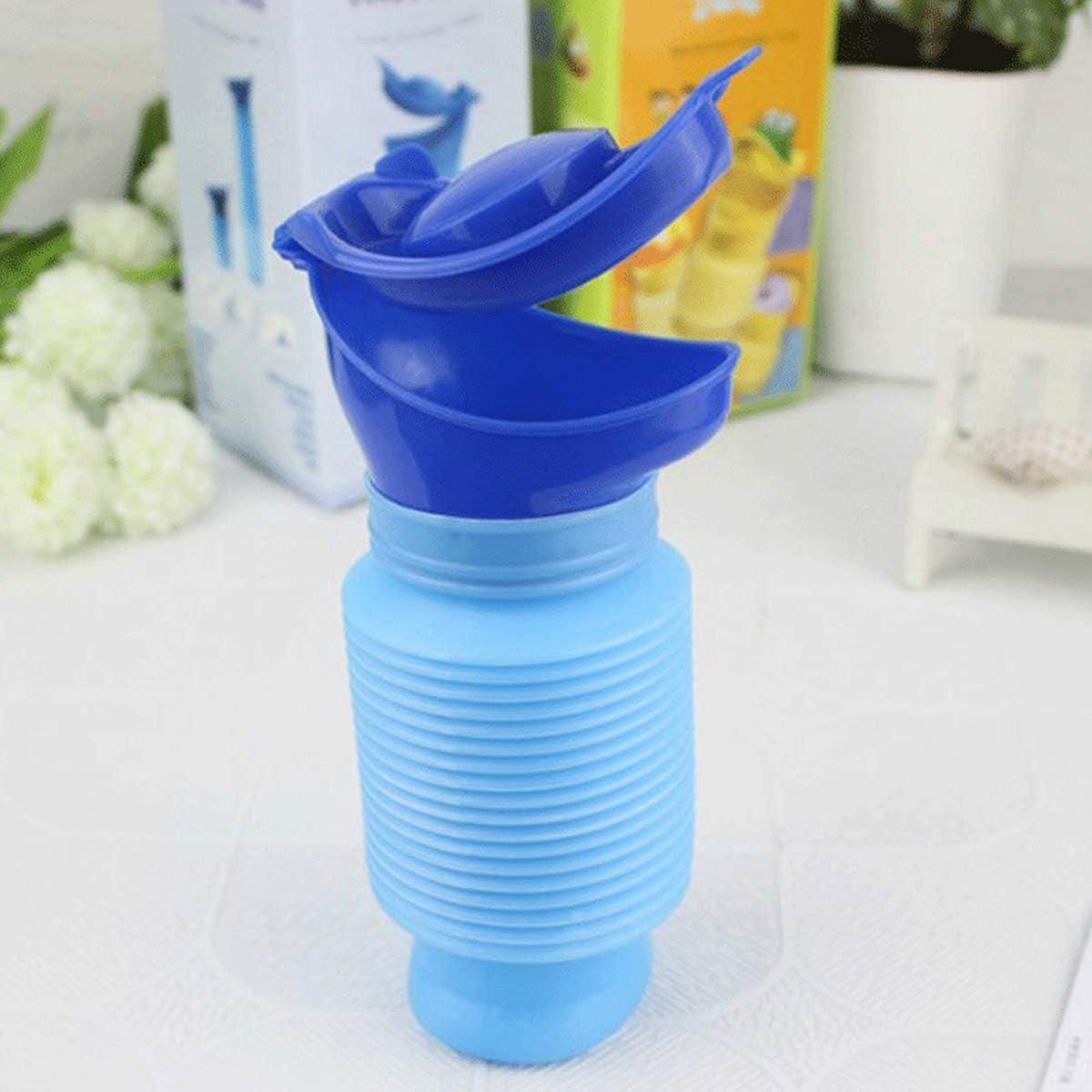 Rose Urinoir de Pot B/éb/é Enfant Portable Tasse de Formation de Pipi R/éutilisable de Bouteille de Pipi Durinoir durgence de Toilette Mobile pour Le Voyage en