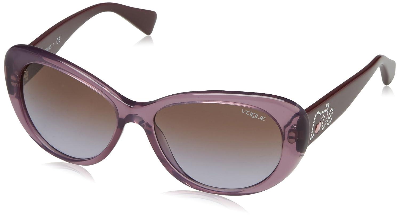 vogue VO2868SB, Lunettes de Soleil Mixte, (Purple 219568), Taille Unique (Taille Fabricant: One Size)