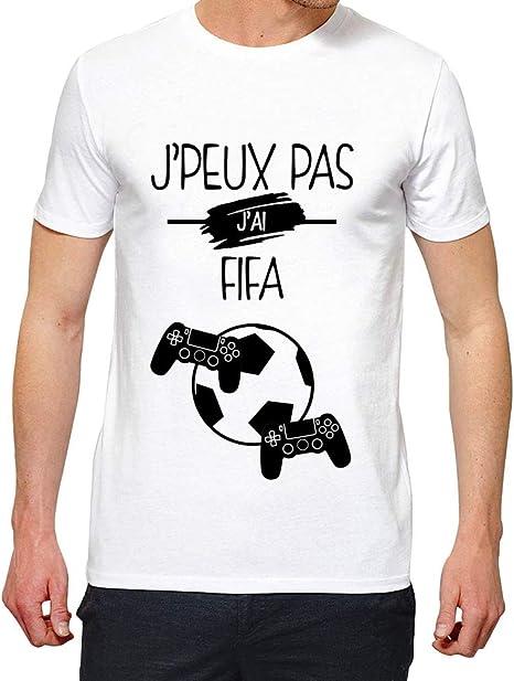 LookMyKase T-Shirt Homme J Peux Pas j AI FIFA