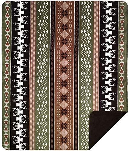 Denali Throw - Denali Ultimate Comfort Microplush Super-Soft Acrylic Blankets - 60