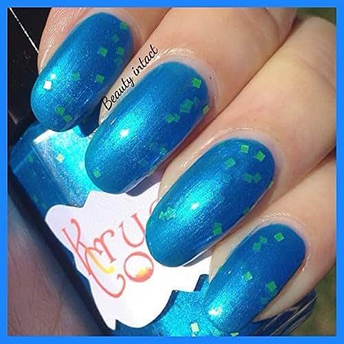 Amazon.com: Corticera Bright Royal Blue Nail Polish With