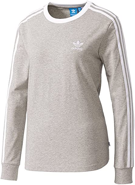 adidas 3Stripes LS Tee Langarm T Shirt, Damen
