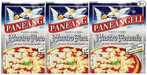 Paneangeli Mastro fornaio levadura para pizza 3 sobres