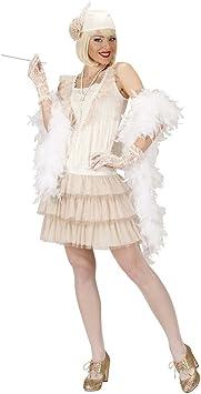 Charleston Disfraz 20 años vestido Charleston Blanco 30 años ...
