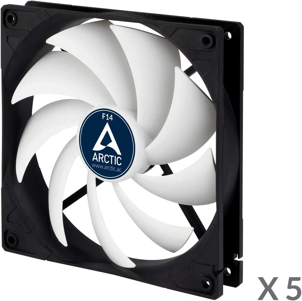Five PackUltra Low Noise Cooler... ARCTIC F12-120 mm Standard Case Fan