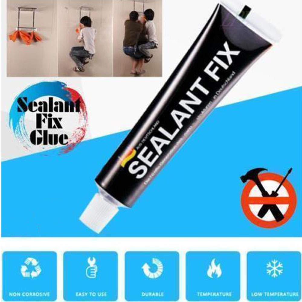 Waterproof Quick Drying Glue, Glass Glue Polymer Metal Adhesive Sealant Fix, 1Pcs (Black) by hanhanNA (Image #4)