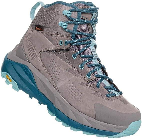 HOKA ONE ONE Sky Kaha - Zapatillas de senderismo para mujer, 8 B(M) US, Frost Gray/Aqua Haze: Amazon.es: Deportes y aire libre