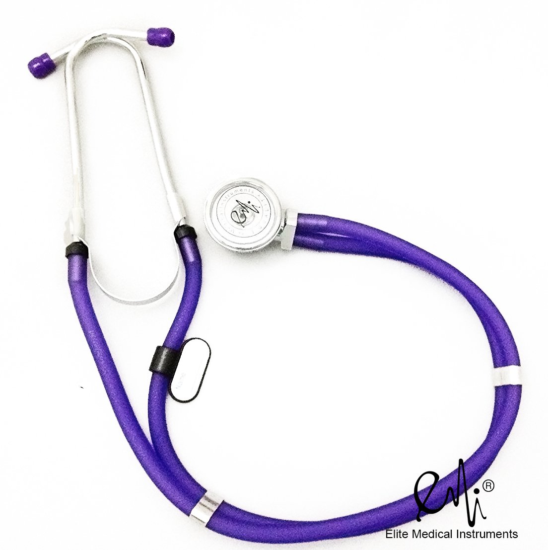 Elite Medical Instruments ESR-112 Sprague Rappaport Stethoscope Frosted, Purple