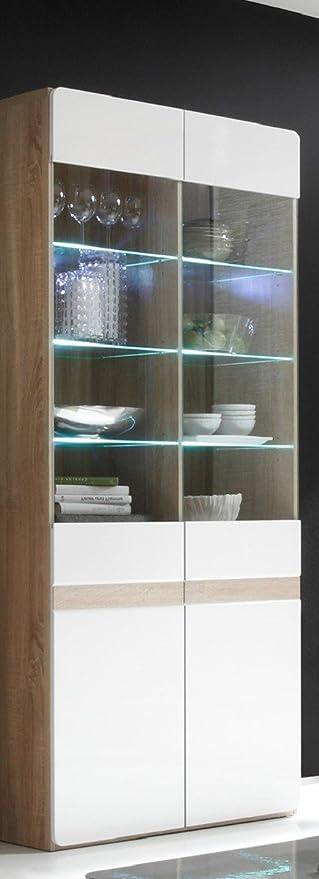 Dreams4Home vitrina de XL Woody - armario, estantería, una ...