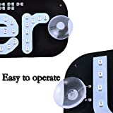 KANGQP LED Sign Decor, Led Sign with Suction Cups