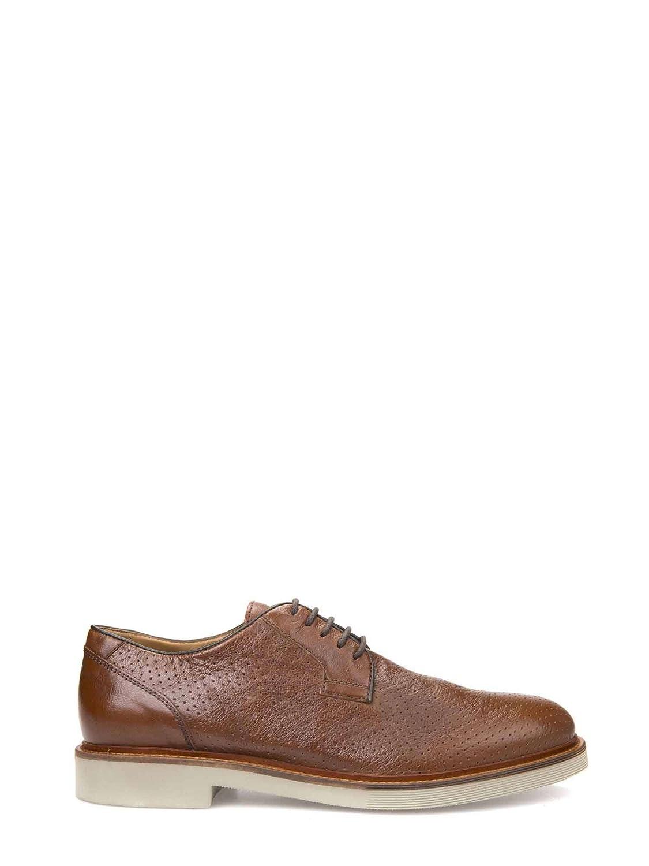 Geox U820SA 00081 Zapatos Casual Hombre 42 EU|Marr貌n