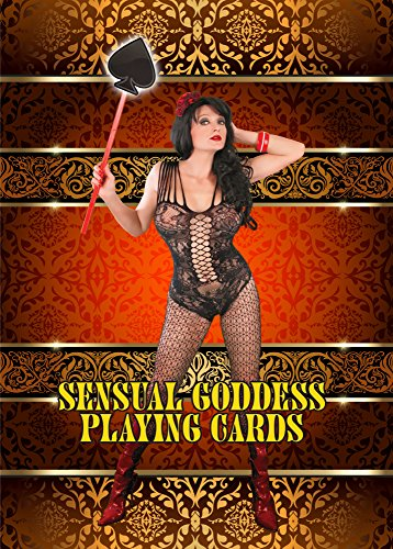 Sensual Goddess Playing Cards - Poker - A Card Size Of Average