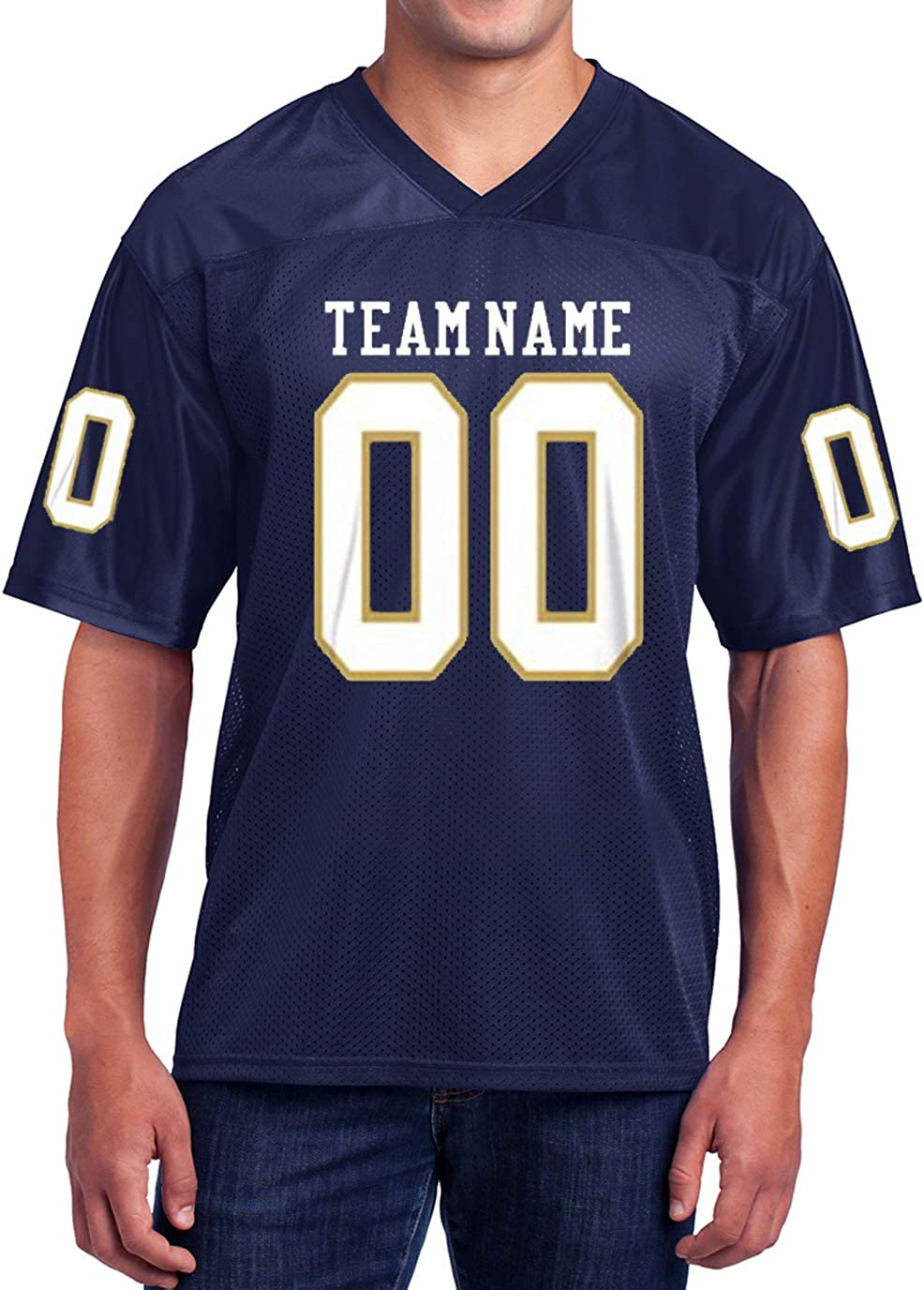 create a football jersey game