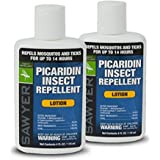 Sawyer Products Premium Insect Repellent with 20% Picaridin, Lotion, 4-Ounce (2 Pack)