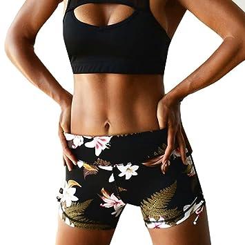 Amazon.com: Pantalones de Yoga, pantalones cortos, mujer ...
