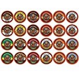 Crazy Cups Decaf Flavor Nation's Selection and Flavored Lovers Coffee Single Serve Cups for Keurig K Cups Brewer (48 Count)