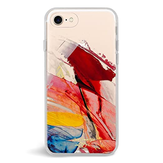 Zero Gravity Case Compatible With I Phone 7/8   Abstract   Smudged Paint   360° Protection, Drop Test Approved by Zero Gravity