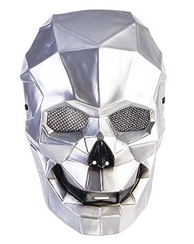 Forum Novelties X78658 Cyborg - Máscara de calavera unisex ...