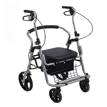 Ayuda a caminar Andador De Andador De Aluminio Plegable ...