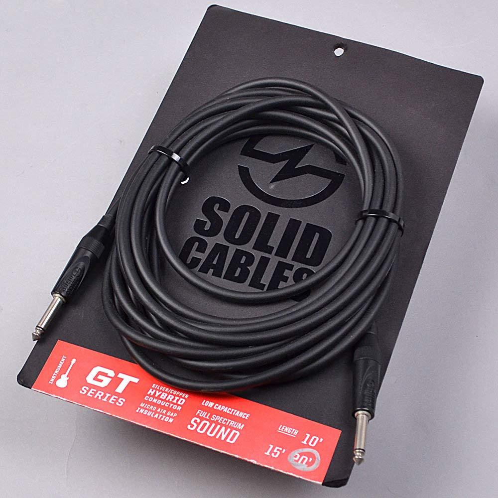 ソリッドケーブル 楽器用シールド GT 20ft. S/S   B00GUCRR6W