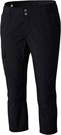 Columbia Silver Ridge Capri - Pantalones Pirata de Escalada para Mujer, Talla UK: