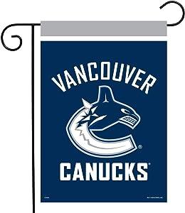 Sparo Vancouver Canucks Garden Flag Hockey Licensed 12.5