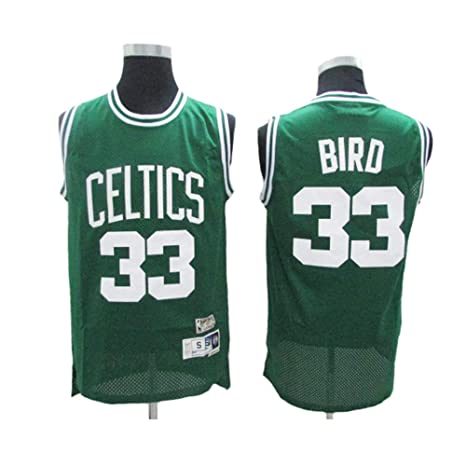 pretty nice 2fcd0 d6beb LSJ-ZZ Basketball Jersey Larry Bird # 33 - NBA Boston ...