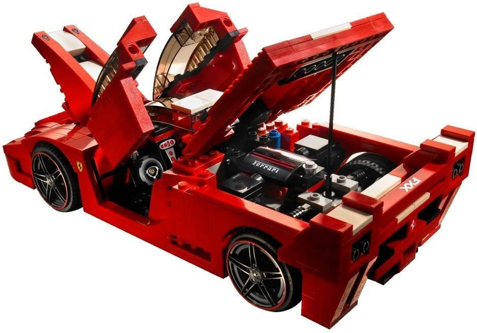 Lego Racers 8156 Ferrari Fxx Amazon De Spielzeug