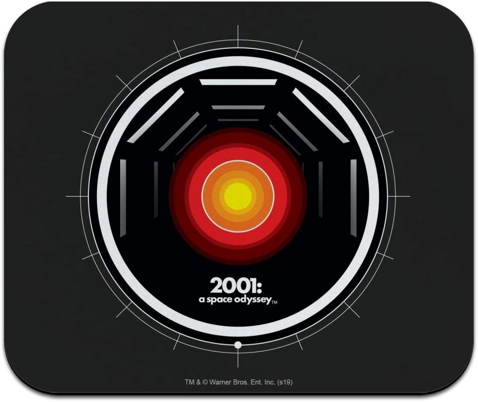 A Space Odyssey Hal Low Profile Thin Mouse Pad Mousepad 2001