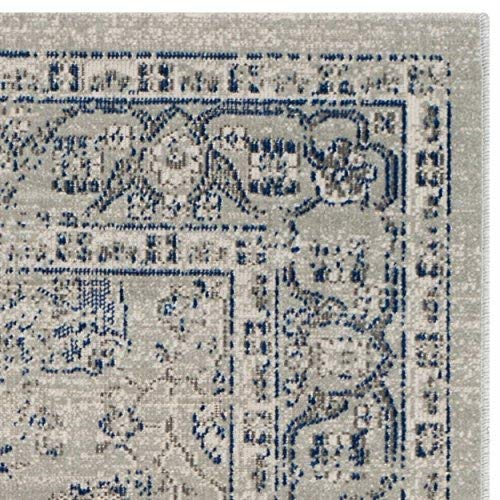 Safavieh Artisan Collection ATN326C Vintage Oriental Silver Distressed Area Rug 3 x 5
