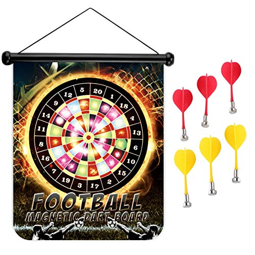 Football Basketball SportsCustom Printing Hanging Wall Magnetic Dart Board  Set   Buy Online In Oman. | Office Product Products In Oman   See Prices,  ...