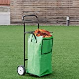 n-bright shop Bag Gardening Leaf Multipurpose Folding Utility Cart Basket Pocket Shopping